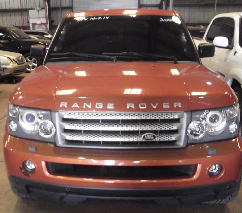 » 2006 Land Rover Orange #603940